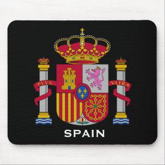 Escudo del escudo de armas Mousepad de España de E Tapetes De Ratón