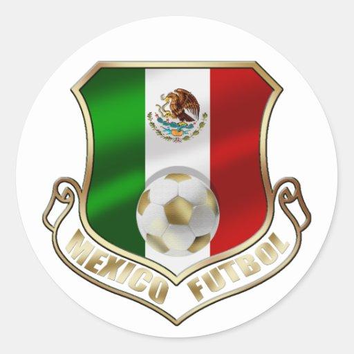 Escudo del fútbol del emblema de la insignia de etiquetas redondas
