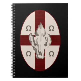 Escudo del Hyena Libretas Espirales