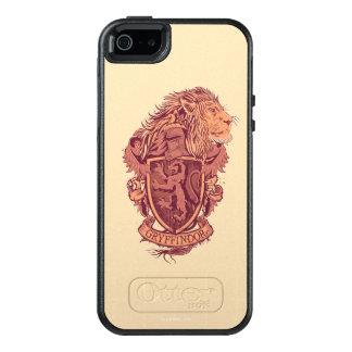 Escudo del león de Harry Potter el | Gryffindor Funda Otterbox Para iPhone 5/5s/SE