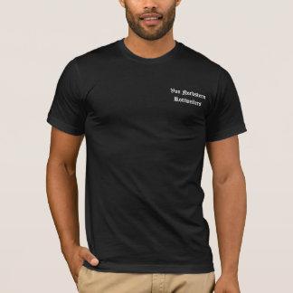 Escudo del negro Est Camiseta
