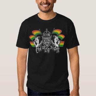 Escudo del reggae de Rasta Camiseta