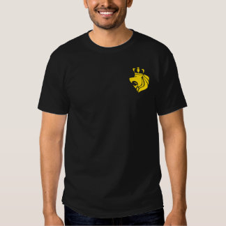 Escudo del reggae de Rasta con el bolsillo Camiseta
