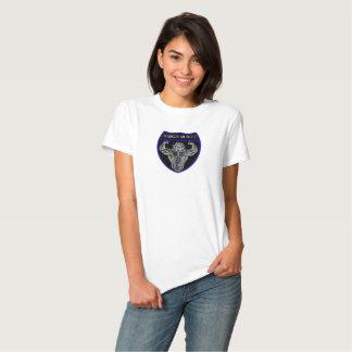 Escudo del tigre del músculo de Hargis Camiseta