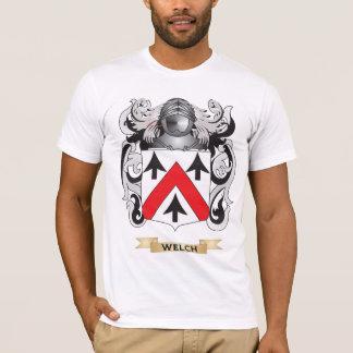 Escudo galés de la familia (escudo de armas) camiseta