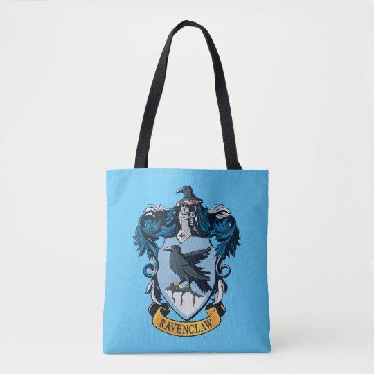 Escudo gótico de Harry Potter el   Ravenclaw Bolsa De Tela