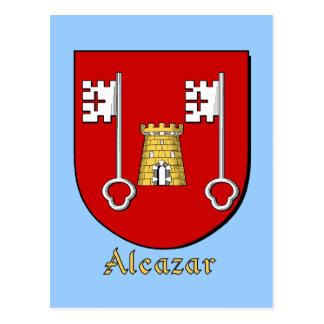 Escudo heráldico de la familia del Alcazar Postal