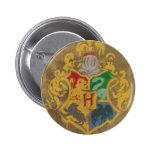 Escudo HPE6 de Hogwarts Chapa Redonda 5 Cm