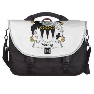 Escudo joven de la familia bolsas para portátil