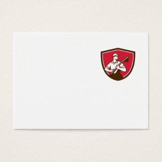 Escudo profesional del vacío del limpiador de la tarjeta de negocios