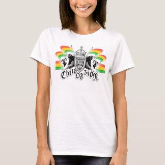 Escudo real del reggae de Rasta Camiseta