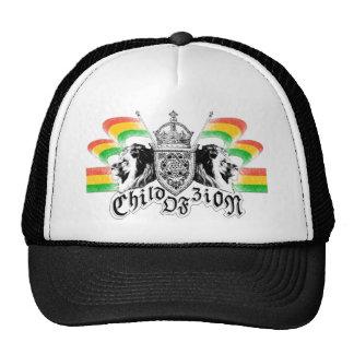 Escudo real del reggae de Rasta Gorras