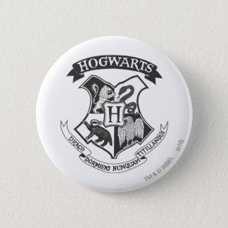 Escudo retro de Harry Potter el | Hogwarts Chapa Redonda De 5 Cm