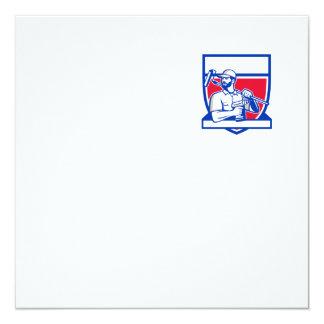 Escudo sin cuerda de Paintroller del taladro de la Invitación 13,3 Cm X 13,3cm