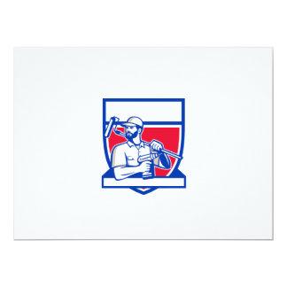 Escudo sin cuerda de Paintroller del taladro de la Invitación 16,5 X 22,2 Cm