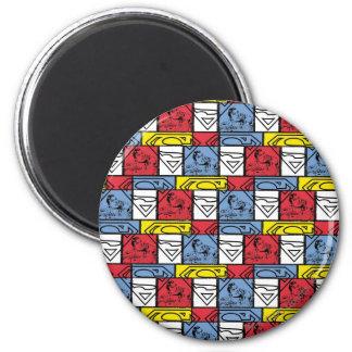 Escudos coloridos del modelo iman para frigorífico