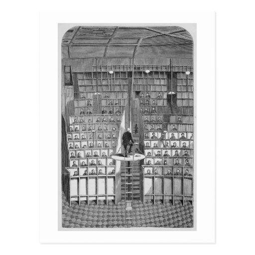 Escuela adulta en la capilla, en el sistema separa tarjeta postal