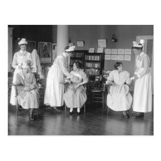 Escuela de enfermería, 1900s tempranos postal