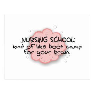 Escuela de enfermería - como el cerebro Boot Camp Tarjetas Postales
