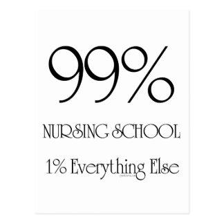 Escuela de enfermería del 99% postales