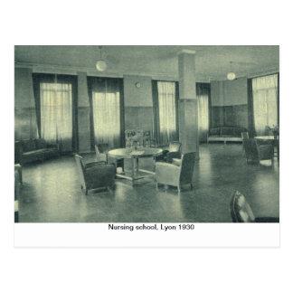 Escuela de enfermería, Lyon 1930 Postal