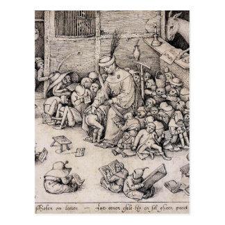Escuela de Pieter Bruegel la anciano Postal