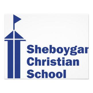 Escuela del cristiano de Sheboygan Invitacion Personalizada