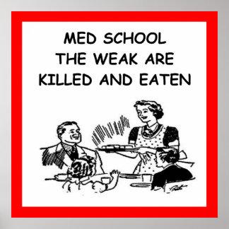 escuela del MED Póster
