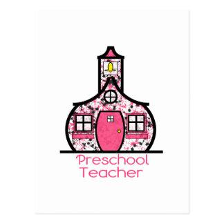 Escuela preescolar de la salpicadura de la pintura postales