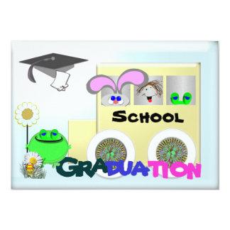Escuela primaria de la graduación invitación 12,7 x 17,8 cm