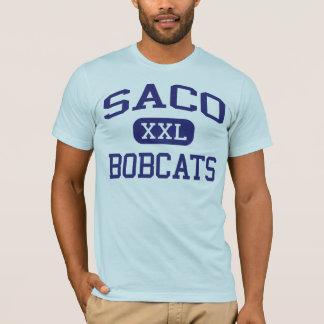 Escuela secundaria Saco Maine de Saco de los Camiseta
