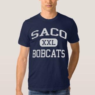 Escuela secundaria Saco Maine de Saco de los Camisetas