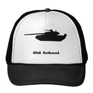 Escuela vieja del tanque gorro de camionero