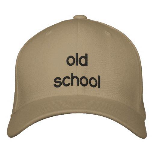 escuela vieja gorras bordadas