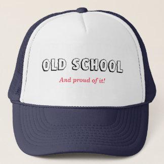 Escuela vieja gorra de camionero