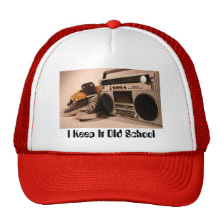 Escuela vieja gorro de camionero