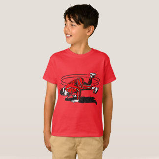 Escuela vieja Hip Hop Breakdancer Camiseta