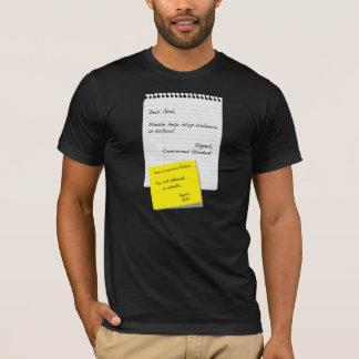 Escuela y religión camiseta