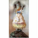 Escultura de la comadreja del fall esculturas fotográficas