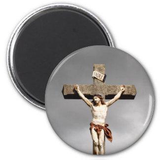 Escultura de la crucifixión del Jesucristo Imán