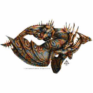 Escultura de la foto de Dragongiant (color) Esculturas Fotográficas