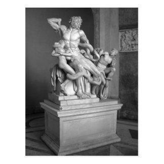 Escultura en el museo de Vatican, Roma de Laocoon. Postal