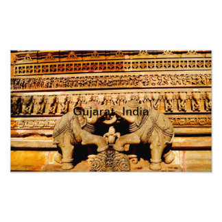 Escultura, Gujarat, la India Impresiones Fotográficas
