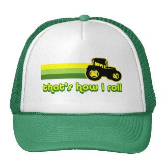 Ése es cómo ruedo el tractor gorras
