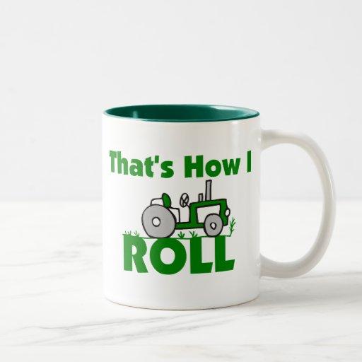 Ése es cómo ruedo tazas de café