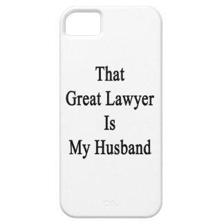 Ese gran abogado es mi marido iPhone 5 Case-Mate funda