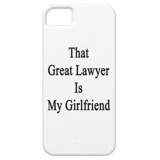 Ese gran abogado es mi novia iPhone 5 protector