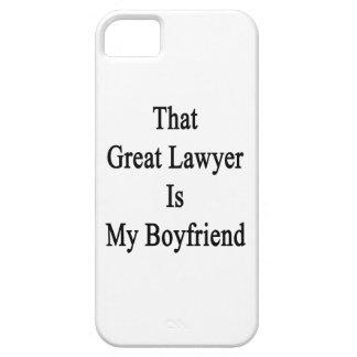 Ese gran abogado es mi novio iPhone 5 Case-Mate cárcasa