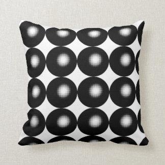 Esferas del tono medio cojín decorativo