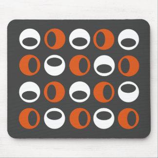 Esferas modernas retras abstractas Mousepad Alfombrilla De Ratón